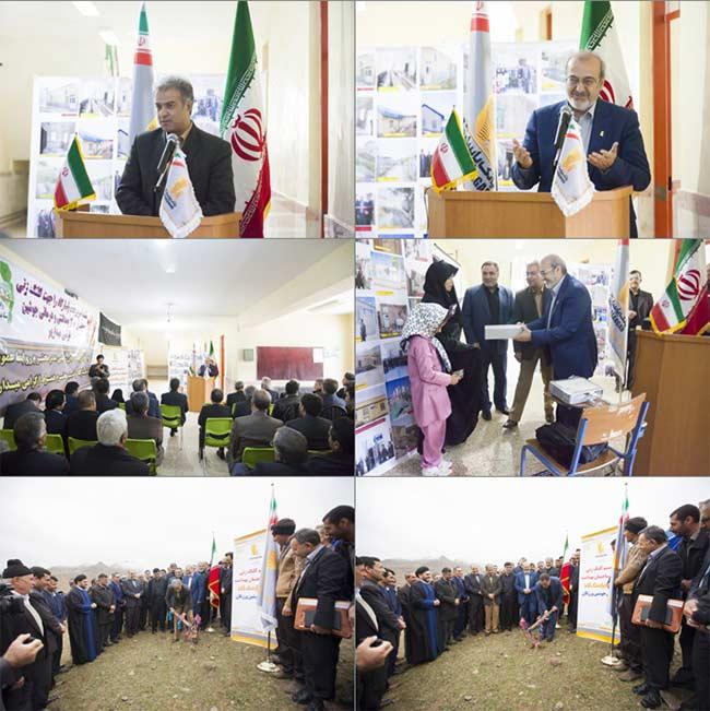 احداث مرکز بهداشتی و درمانی توسط بانک پاسارگاد